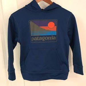 Patagonia Boys' Graphic PolyCycle Hoody